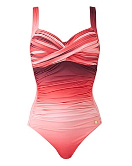 Sunseeker Ombre Twist Swimsuit