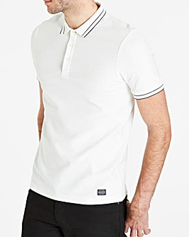 Farah Jeans Honeycomb Tipped Polo