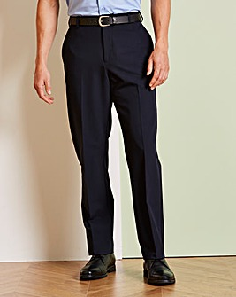 Farah Navy Stretch TwillTrouser 29in