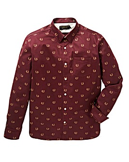 Hammond & Co. Foxy Sateen Print Shirt