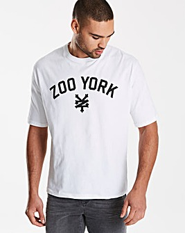 Zoo York White Parkin T-Shirt L