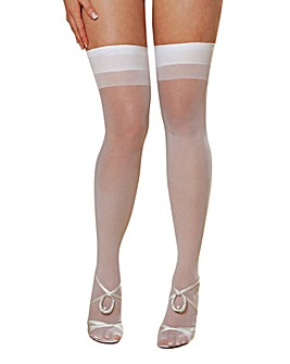 Dreamgirl Sheer Thigh High Stockings
