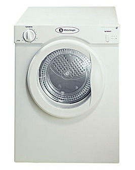 White Knight Reverse 3Kg Dryer - White