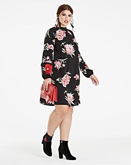 Peasant Layered Sleeve Dress