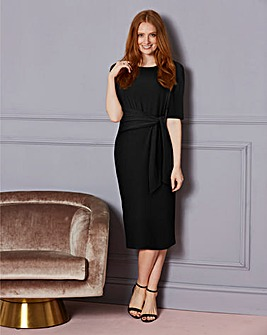 BlackTie Front Dress