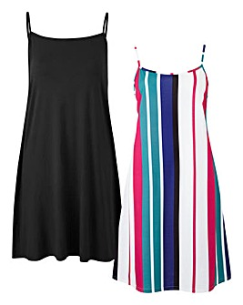 Pack of Two Cami Dresses