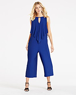 Cobalt Culotte Layer Jumpsuit