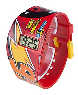 Disney Cars 3 LCD Watch