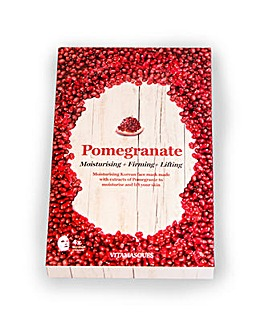 Vitamasque Pomegranate Pack of 4