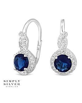 Simply Silver clara hook earring