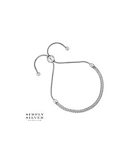 Simply Silver toggle bracelet