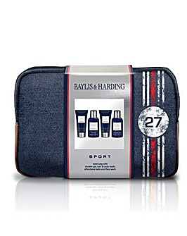 B&H Mens Sport Washbag