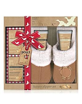 B&H Fuzzy Duck Luxury Slipper Set