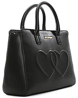 Love Moschino Heart Embossed Grab Bag