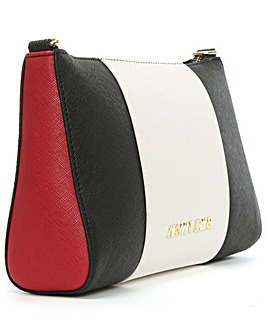 Armani Jeans Top Zip Cross-Body Bag