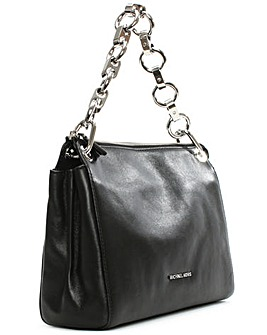 Michael Kors Black Link Messenger Bag