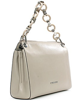 Michael Kors Grey Link Messenger Bag