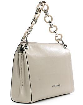 Michael Kors Grey Link Messenger Bag