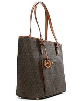 Michael Kors Coated Canvas Tote Bag