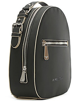 Armani Jeans Black Top Handle Backpack