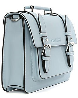 Armani Jeans Blue Satchel Bag