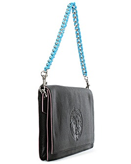 Versue Versace Leather Shoulder Bag