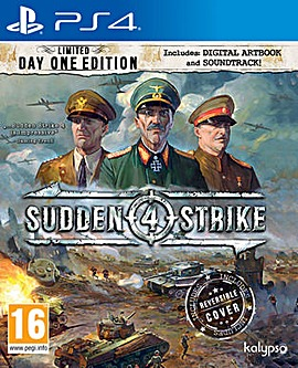 Sudden Strike 4 Day 1 Ltd Edition PS4
