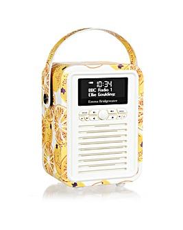 VQ Retro Mini DAB/FM Radio - Marmalade