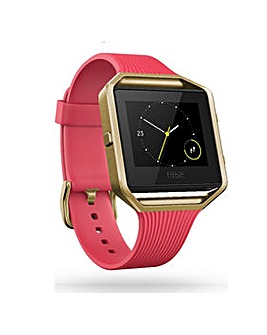 FitBit BLAZE Fitness  - Pink Gold Large