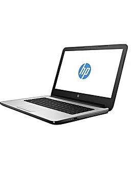 "HP 14"" Laptop Quadcore 4GB 500GB DVDrw"
