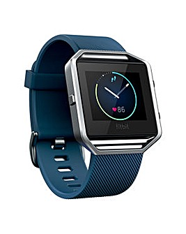 Fitbit Blaze Smart Watch - Blue Large