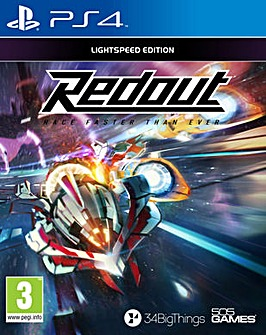 Redout Lightspeed Edition PS4