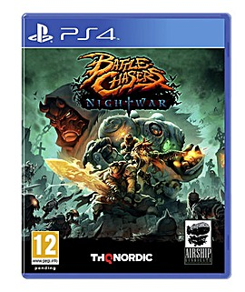 Battle Chasers Night War PS4