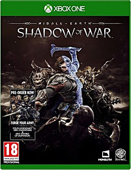 Middle Earth Shadow Of War Xbox One