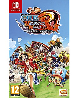 One Piece Unlimited World Red Deluxe Edn