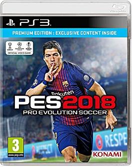 Pro Evolution Soccer Premium 2018 PS3