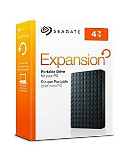 SEAGATE 4TB EXPANSION DRIVE BLACK