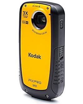 Kodak PIXPRO SPZ1-YL Waterprf Camcorder
