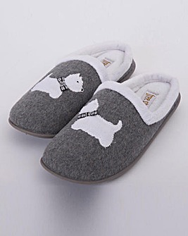 Dog Mule Slipper EEE Fit