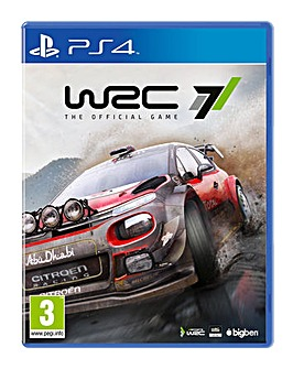 WRC 7 - The Official Game PS4