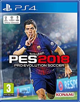 Pro Evolution Soccer PES 2018 PS4
