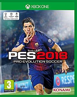 Pro Evolution Soccer PES 2018 XB1