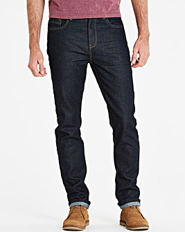 Jacamo Raw Denim Slim Jeans 31in