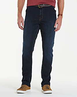 Union Blues Stretch Tapered Jean 35 Inch