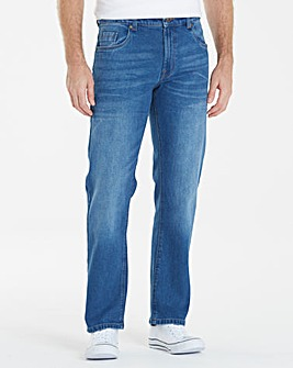 Union Blues Straight Fit Jeans 35 Inch