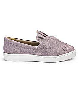 Sole Diva Knot Slip On Pumps E Fit