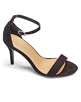 Sole Diva Barely There Sandals EEE Fit