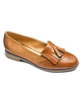 Sole Diva Tassel Loafers E Fit