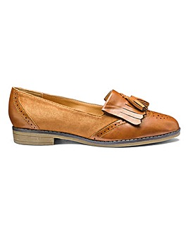 Sole Diva Tassel Loafers EEE Fit