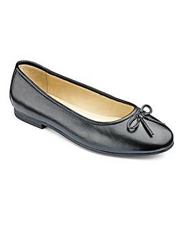 Heavenly Soles Bow Ballerina Shoes EEE